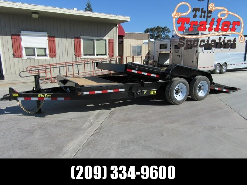 "New 2019 Big Tex Trailers 16TL-20 Equipment Trailer 81""X20' 16K"
