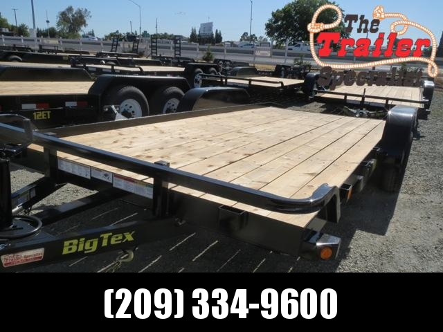 New 2019 Big Tex 70CH-18DTBRK2 7x18 7K GVW  Car/Racing Trailer
