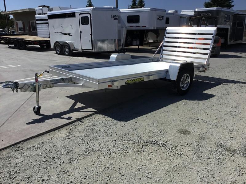 "NEW 2019 Aluma 6812H 38""x12' 3K Aluminum Utility Trailer"