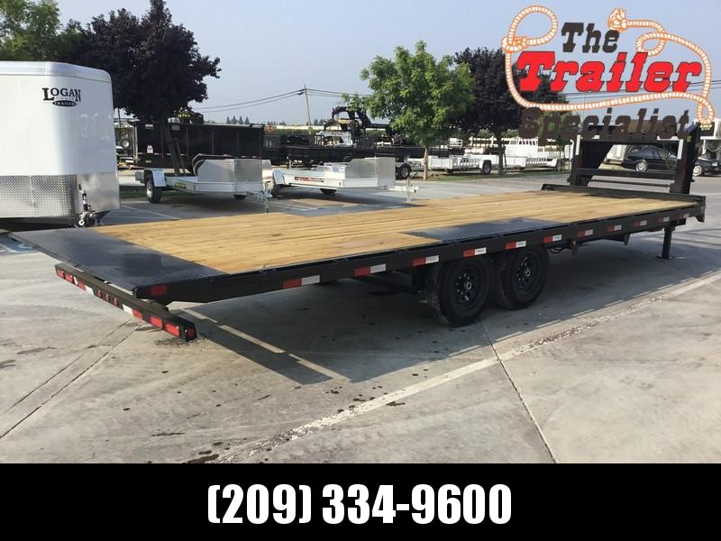 "New 2019 Big Tex 14OT-26GN 14K GVW 102""x26 Flatbed Trailer in Kiana, AK"
