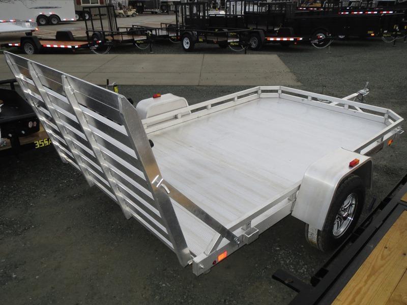 New 2017 Aluma 7710H 77'x10' Aluminum Utility Trailer VIN59123