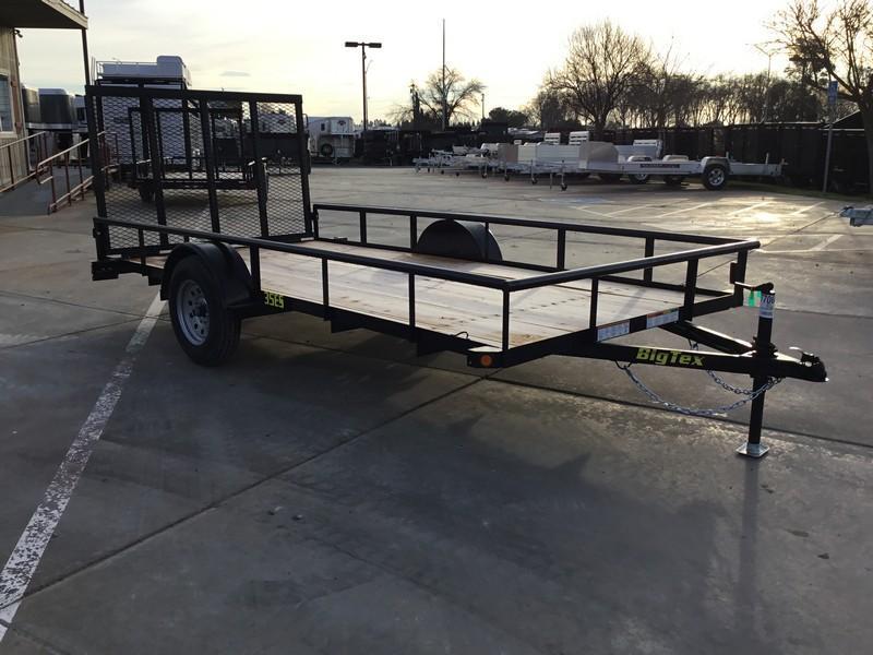 New 2019 Big Tex 35ES-14 Economy Utility Trailer