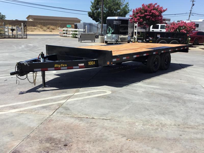 NEW 2020 Big Tex 10OA-18SIR Flatbed Trailer 8.5x18 10K GVW in Ashburn, VA
