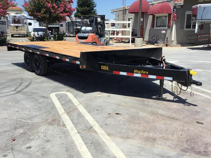 NEW 2020 Big Tex 10OA-18SIR Flatbed Trailer 8.5x18 10K GVW
