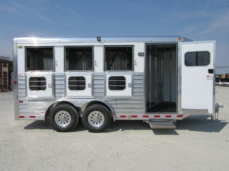 New 2018 Hart Tradition 3H BP Horse Trailer Vin 51013