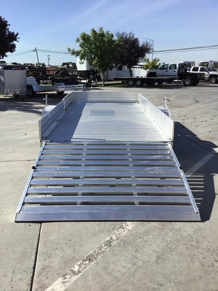 "New 2019 Aluma 8114SR 81""x14' Aluminum Utility Trailer"