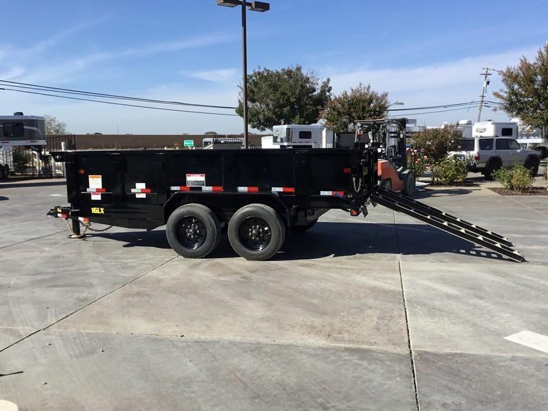 New 2018 Big Tex 16LX-14HJ 17.5K GVW 7x14 Dump Trailer