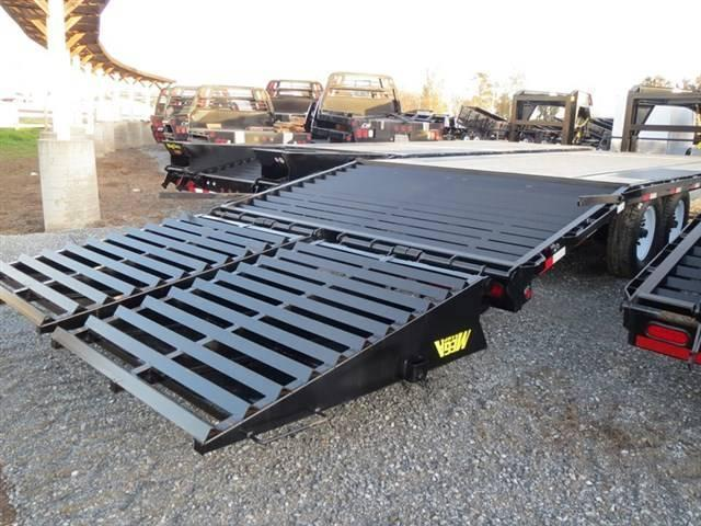 New 2019 Big Tex 14GN-20+5MR 14k Equipment Trailer