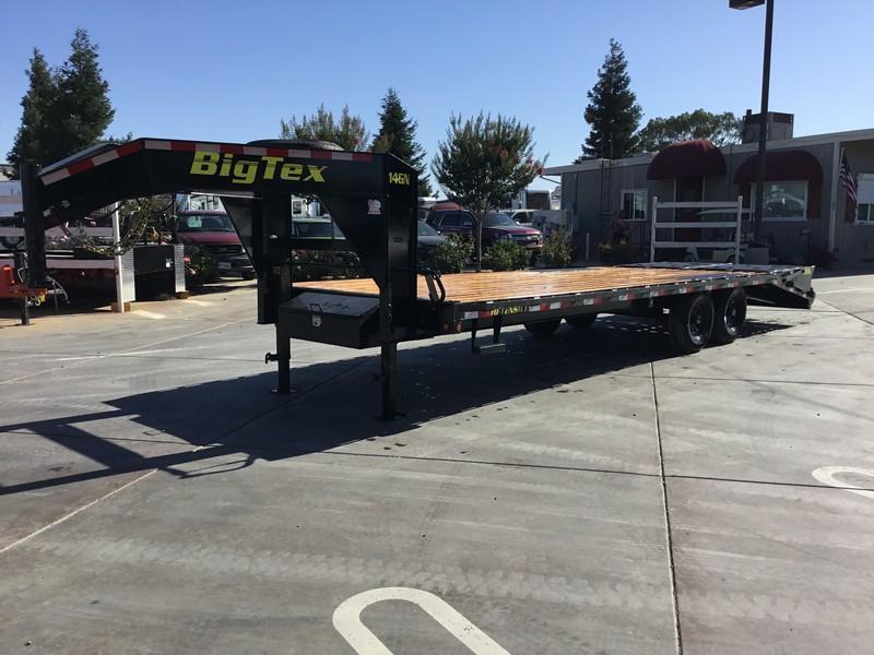 New 2019 Big Tex 14GN-20+5MR 15900# GVW Equipment Trailer