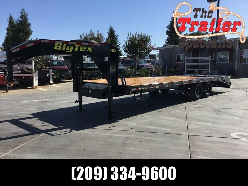 New 2019 Big Tex 14GN-20+5MR 15900# GVW Equipment Trailer  in Circle, AK