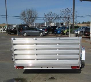 "NEW 2018 Aluma 7210 72""x10' Aluminum Utility Trailer Vin: 62465"