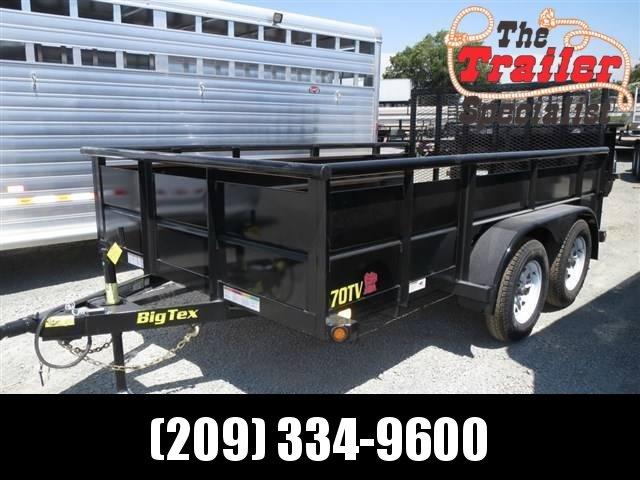 New 2018 Big Tex 70TV-12 7x12 Utility Trailer