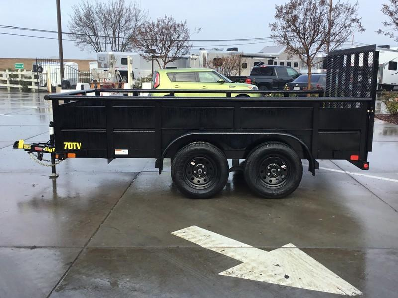 New 2020 Tex 70TV-12 7x12 Utility Trailer