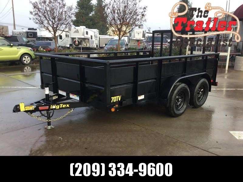 New 2019 Big Tex 70TV-12 7x12 Utility Trailer  in Ashburn, VA