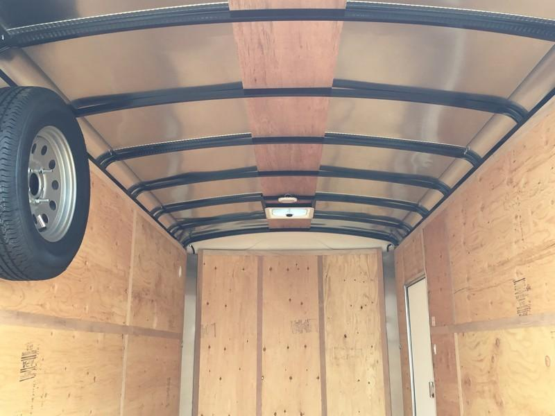 New 2018 Mirage MXL714TA2 7x14 Enclosed Cargo Trailer Vin 80677