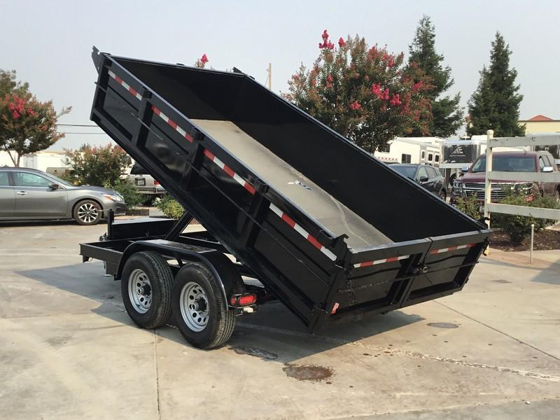New 2017 Iron Panther DT261 6x12 10K GVW Dump Trailer