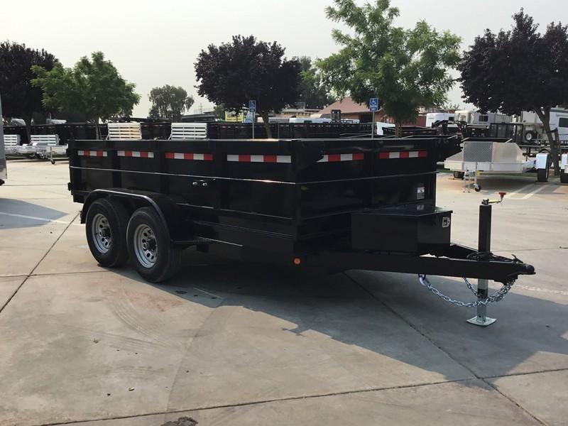 New 2017 Iron Panther DT261 6x12 10K GVW Dump Trailer