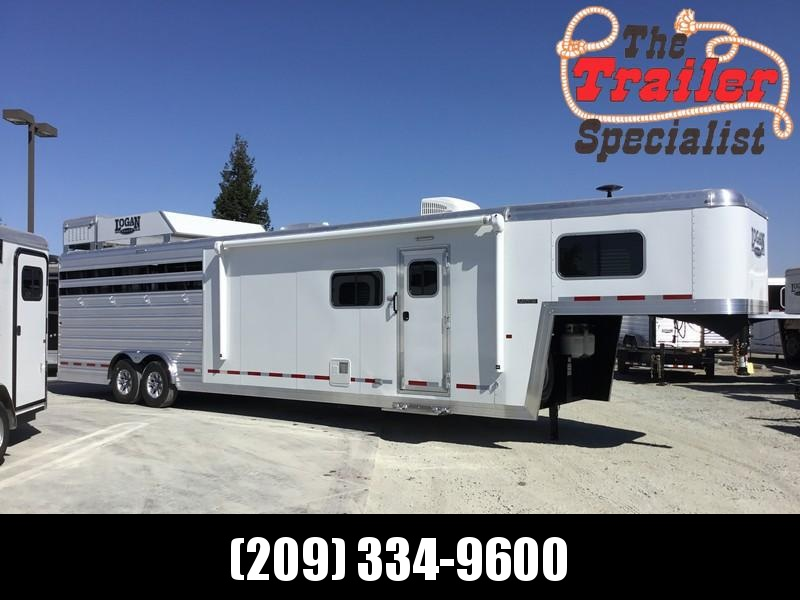 NEW 2019 Logan Coach 14 ft Limited 12ft LQ GN Horse Trailer in Ashburn, VA
