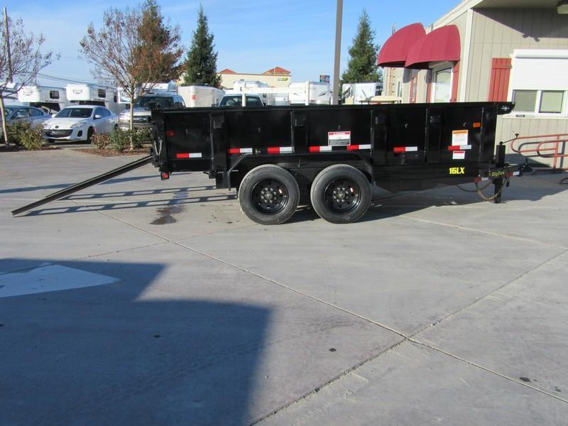 New 2018 Big Tex 16LX-14 7x14 17.5K GVW Dump Trailer Vin 99648