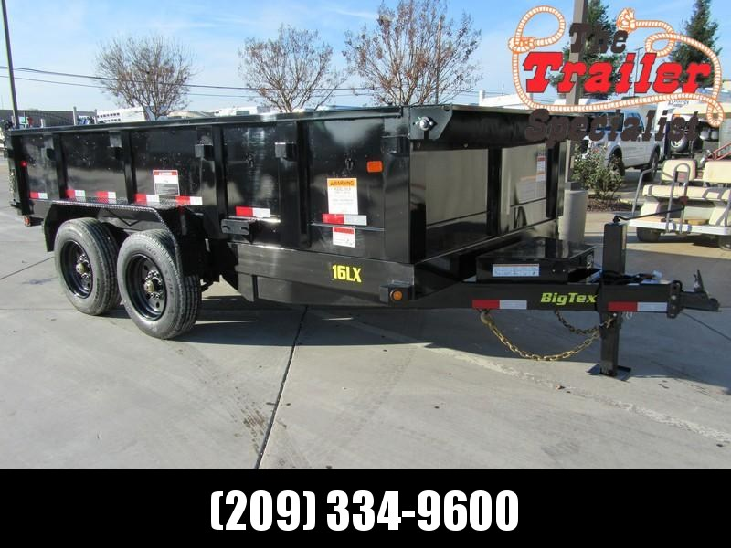 New 2018 Big Tex 16LX-14 7x14 16K GVW Dump Trailer Vin 99648