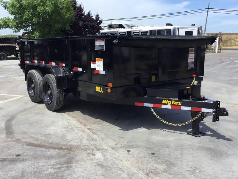 New 2019 Big Tex 16LX-14 7x14 17.5K GVW Dump Trailer  in Ashburn, VA