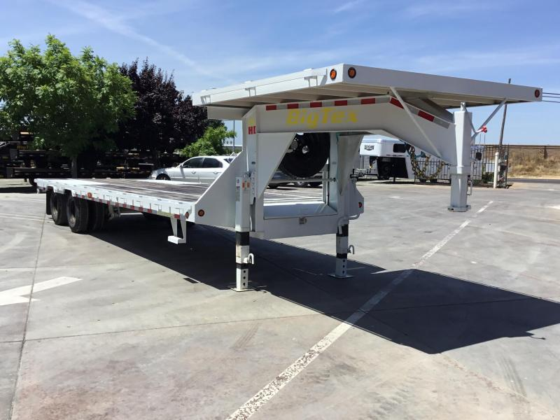 NEW 2019 Big Tex Trailers 25GN 25ft straight deck Equipment Trailer in Ashburn, VA
