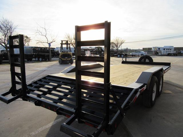 """New 2018 Big Tex 14DF-20 102""""x20 Equipment Trailer VIN:80113"""