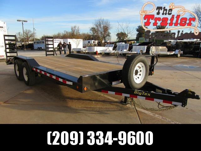 "New 2018 Big Tex 14DF-20 102""x20 Equipment Trailer VIN:80113 in Ashburn, VA"