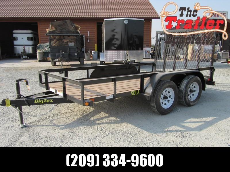 New 2019 Big Tex Trailers 50LA-12-4RG 6.5x12 Utility Trailer