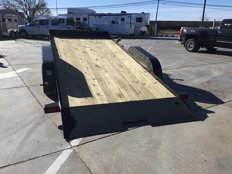 New 2019 Big Tex 70CT-18 Car Trailer Tilt 7x18 7k