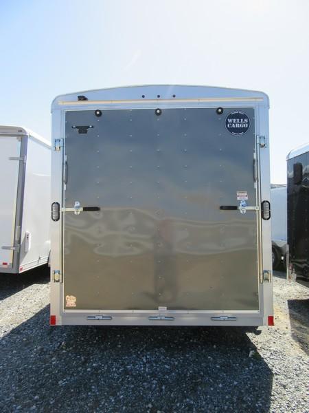 New 2018 Wells Cargo RF7x162 7x16 Enclosed Cargo Trailer