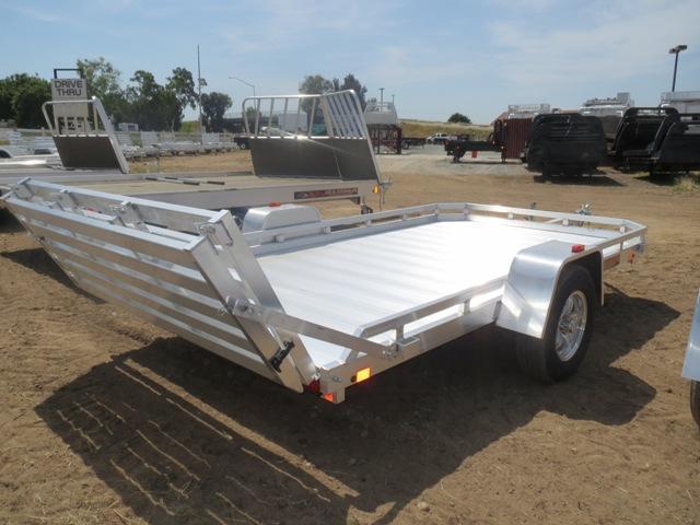 New 2020 Aluma 7712H BT 77'x12' Aluminum Utility Trailer