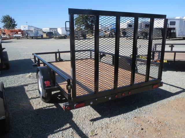 New 2019 Big Tex 35SA-10 6.5X10 Utility Trailer