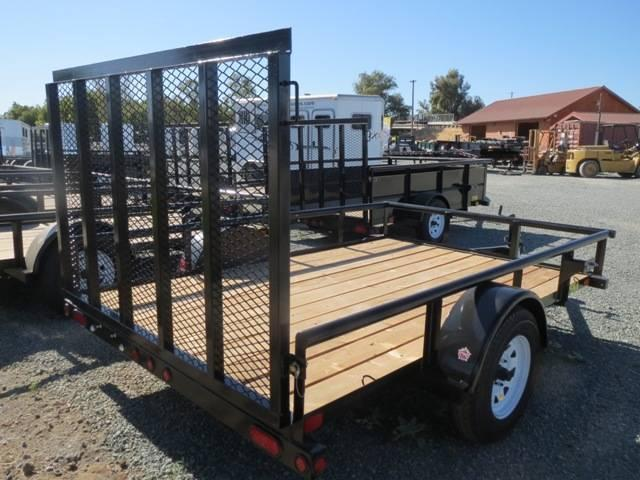New 2018 Big Tex 35SA-10 6.5X10 Utility Trailer