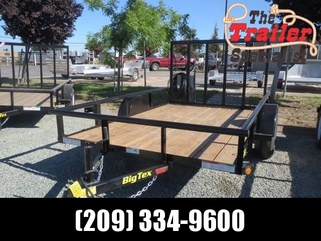 New 2018 Big Tex 35SA-10 6.5X10 Utility Trailer VIN:14078