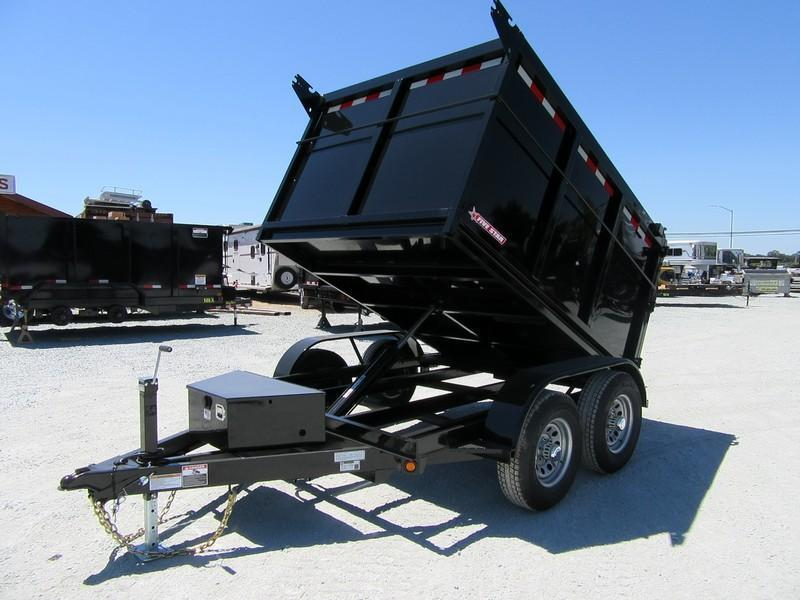 New 2018 Five Star DT294 D10 6x8 10K 4' sides Dump Trailer