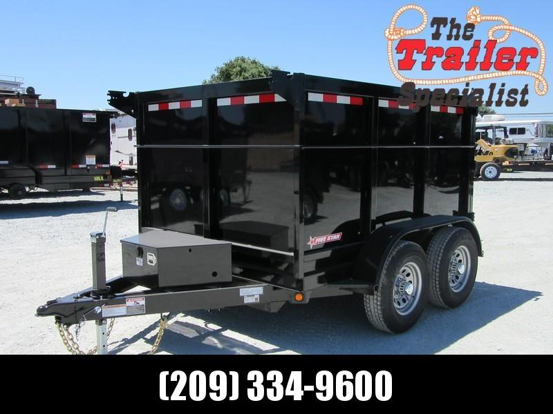 New 2019 Five Star DT294 D10 6x8 10K 4' sides Dump Trailer  in Ashburn, VA