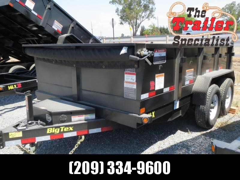 New 2020 Big Tex Trailers 14LX-12 7x12 14K GVW Dump Trailer in Ashburn, VA