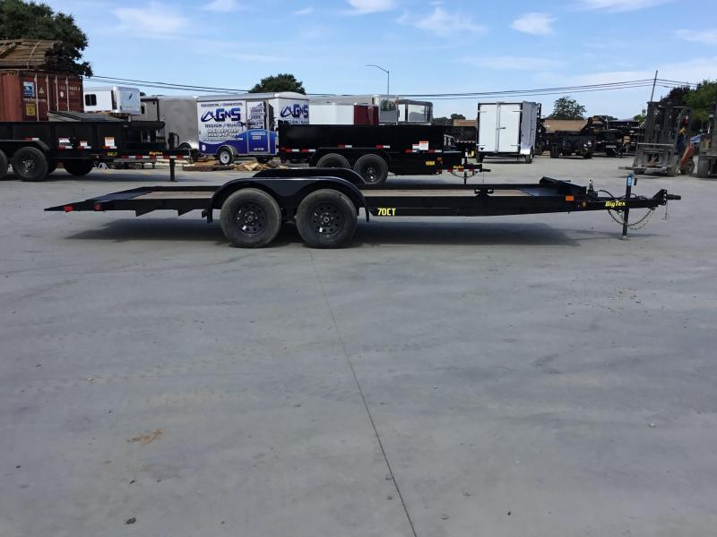 New 2019 Big Tex 70CT-20 Car Trailer Tilt 7x20 7k