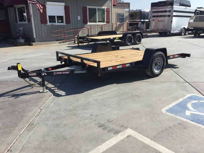 New 2019 Five Star UT271 3K 6.5x12 Tilt Utility Trailer