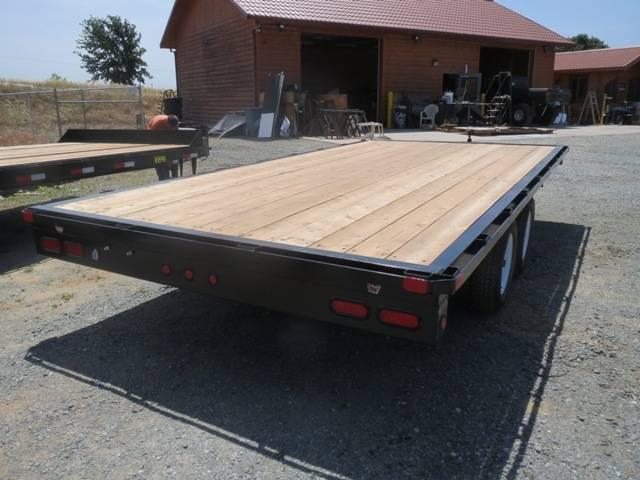 2017 Big Tex 70OA-16 8.5x16 Deck Over Utility Trailer VIN24083