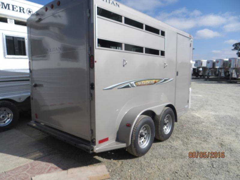 2016 Titan 2H Avalanche II BP Horse Trailer Vin: 75473