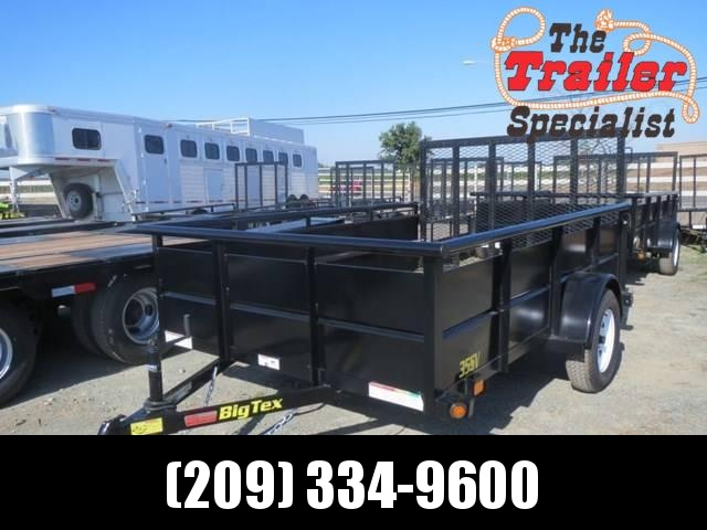 New 2019 Big Tex 35SV-12 6.5x12 2990# GVW Utility Trailer