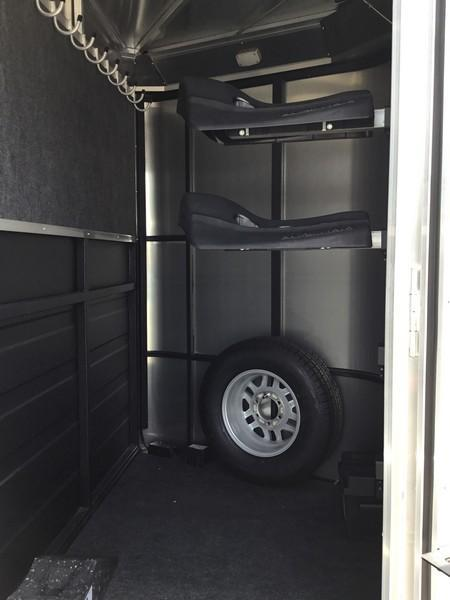 New 2018 Logan Coach Riot 2-Horse BP Horse Trailer