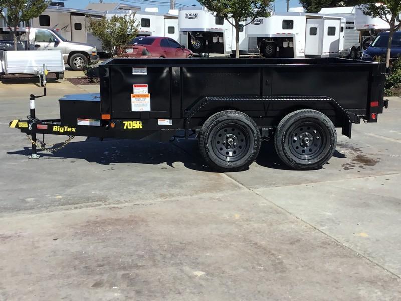 New 2019 Big Tex 70SR-10-5WDD 5x10 7K GVW Dump Trailer