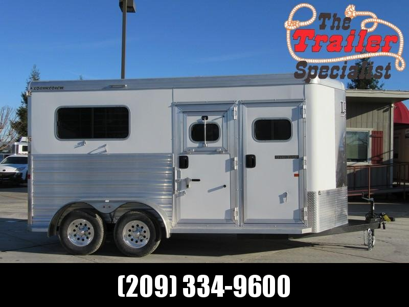 New 2018 Logan 2H Warmblood Straightload Horse Trailer Vin 06188