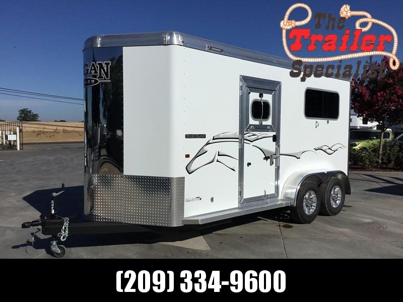 New 2019 Logan 2H Warmblood Straightload Horse Trailer