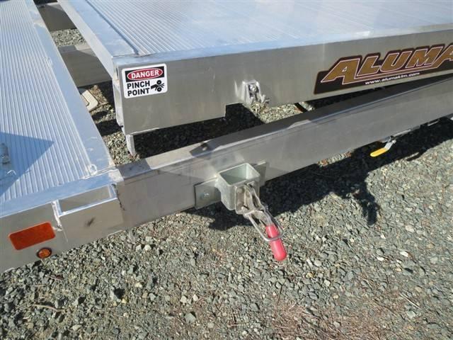 "New 2018 Aluma 8220TILT 82""x20' Car / Racing Trailer Vin 69752"