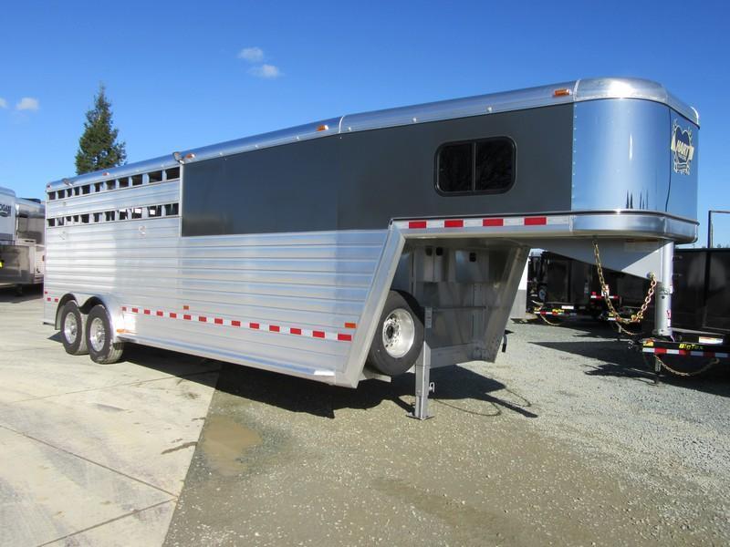 new 2018 hart trailers lariat stockcombo 22 livestock trailer vin