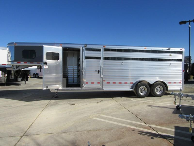 New 2018 Hart Trailers Lariat StockCombo 22 Livestock Trailer Vin 51067